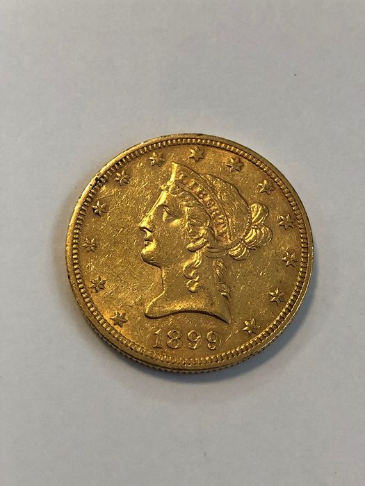 United States - 10 Dollars 1899 Liberty Head - Gold
