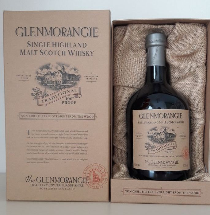 Glenmorangie 10 years old Traditional 100 Proof - Original bottling - 1.0 Litre