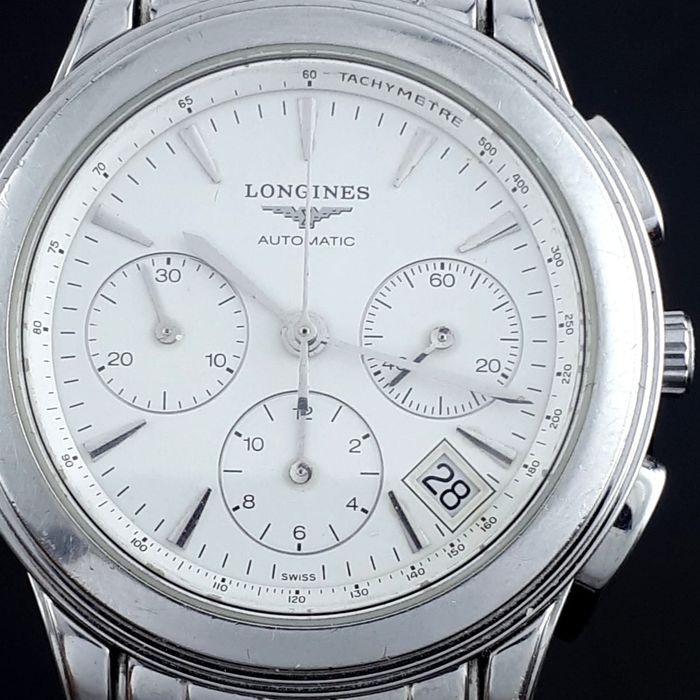 "Longines - Flagship  chronograph automatic - L4.718.4 - ""NO RESERVE PRICE"" - Men - 2006"