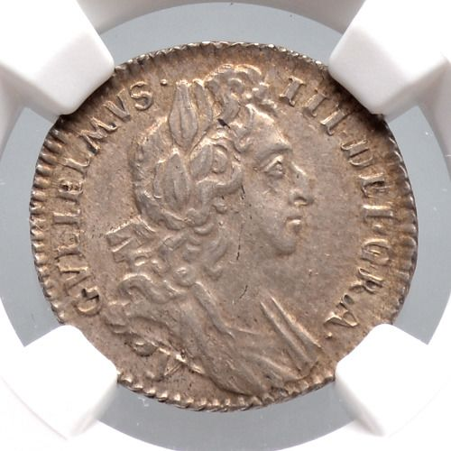 United Kingdom - 6 Pence 1696 William III in NGC Slab - Silver