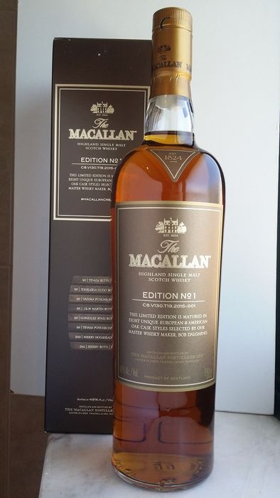 Macallan Edition no. 1 - Macallan - 750ml