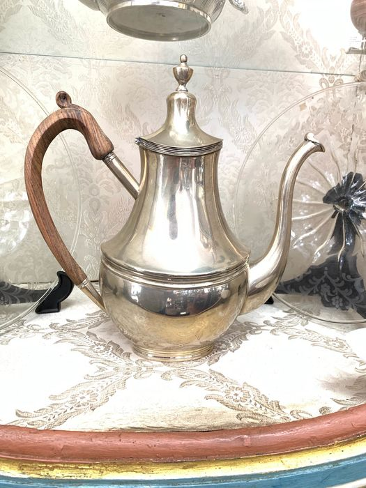 Teapot - .833 silver - Portugal - mid 20th century