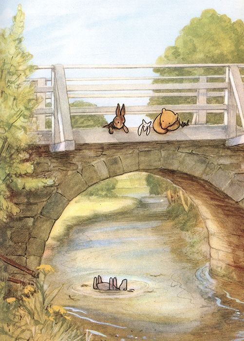 Special box set; first E.H. Shepard colour-plate editions - Complete 'Winnie-the-Pooh', plus 'The Wind in the Willows' - 1959/1960