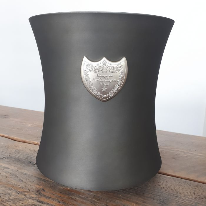 Dom Perignon Cooler with Carved Shield logo - Designed By Martin Szekely