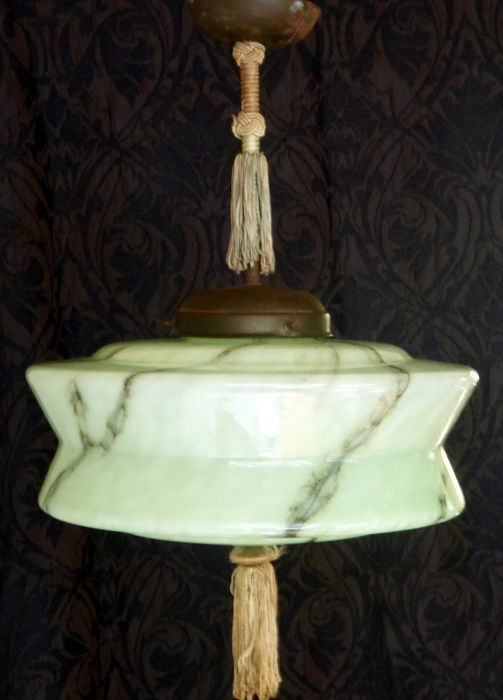 Ceiling lamp - Copper, Glass