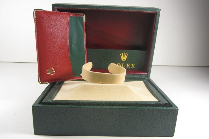 Splendido box Rolex con Business Credit Card  - Herren - 1980-1989