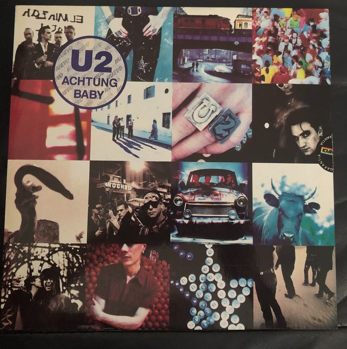 U2 - Achtung Baby [Uncensored sleeve] - LP album - 1991