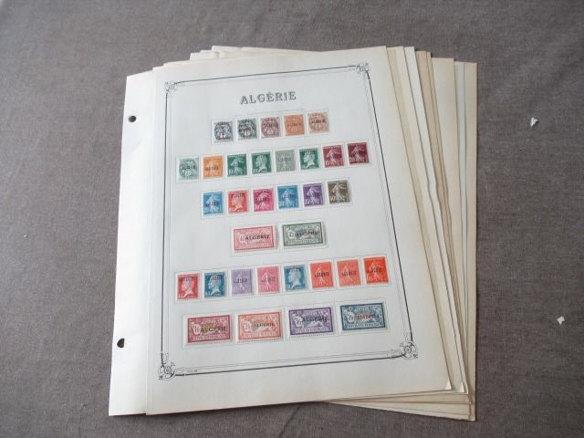 Francia gyarmat - Algeria - Advanced collection of stamps