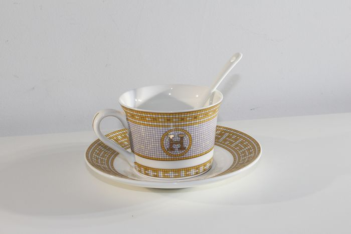 Hermes - Cup and saucer - Porcelain