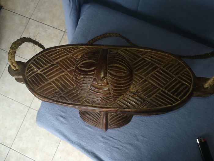 Container - Wood, Cord - Luba - DRC Congo
