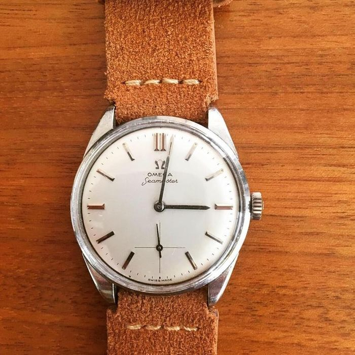 Omega - 1950s Seamaster Sub-Dial - Beautiful Gents Watch- Hombre - 1950-1959