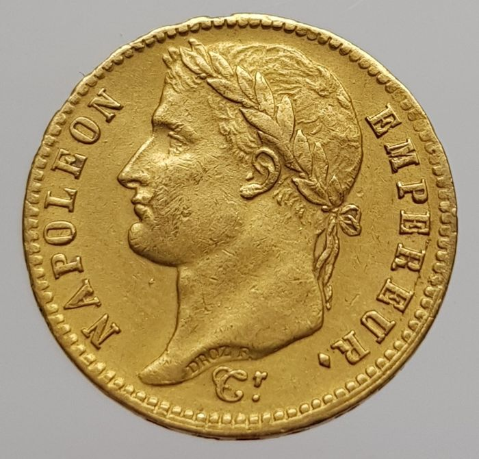 France - 20 Francs 1812-A Napoleon - Gold