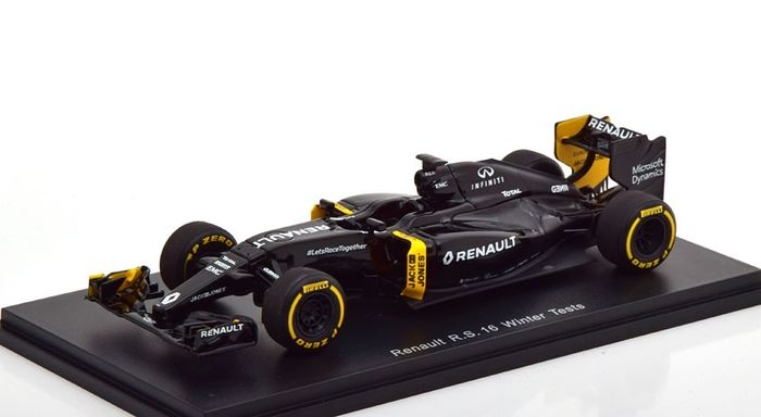 Spark - 1:43 - Formule 1 Renault R.S.16 Winter Tests 2016
