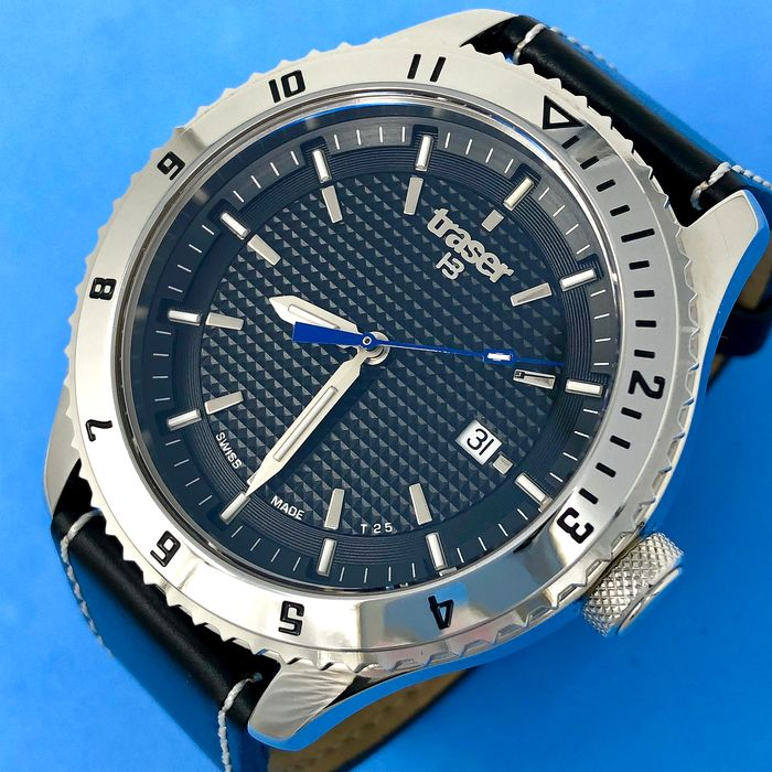 Traser - T5 Automatic Master Prestige with Leather Strap Swiss Made - 106975 - Hombre - Brand New