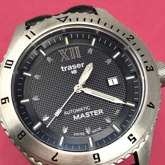 """Traser - T5 Automatic Master with Brown Leather Strap Swiss Made - 100242 """"NO RESERVE PRICE"""" - Heren - Brand New"""