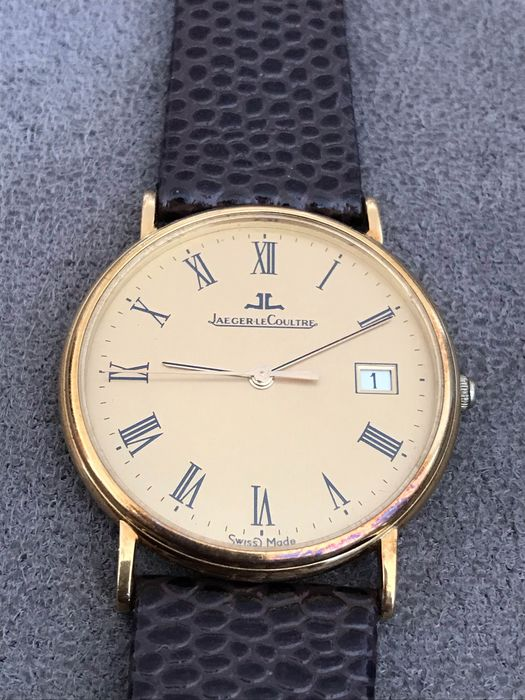 Jaeger-LeCoultre - 18K Yellow Gold Swiss Quartz  - 190245 - Men - 2000-2010