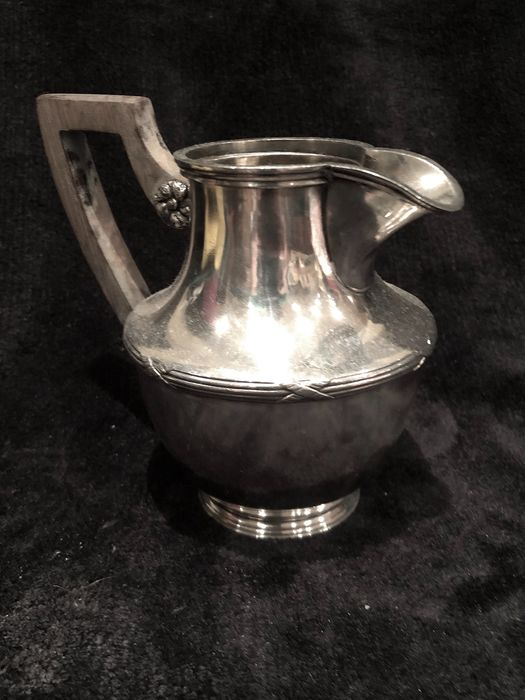Great British 19th-20th Century (Époque Edward VII 1901-1910) milk Jar - Silver plated - England - Early 20th century