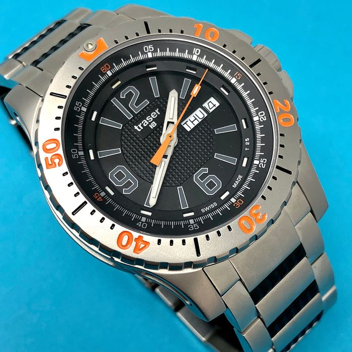 """Traser - H3 P66 Extreme Sport with Steel Bracelet SWISS MADE - 100224 """"NO RESERVE PRICE"""" - Hombre - Brand New"""