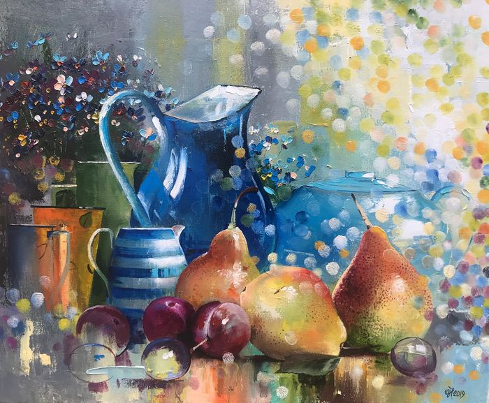 Alexandr Nakonechny - Pears and plums