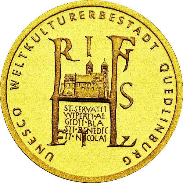 Germany - 100 Euro 2003 - Gold