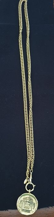 Chanel - 31 Rue cambon Paris groot medaillon Ketting