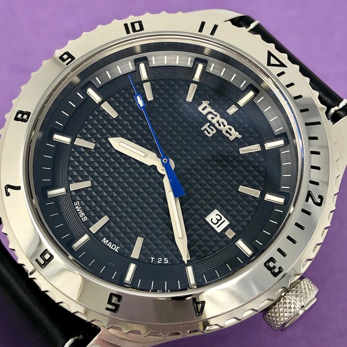 "Traser - T5 Automatic Master Prestige Chrome Finish - 106975 ""NO RESERVE PRICE"" - Uomo - Brand New"