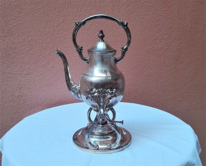 Samovar - Silverplate - Italy - First half 20th century