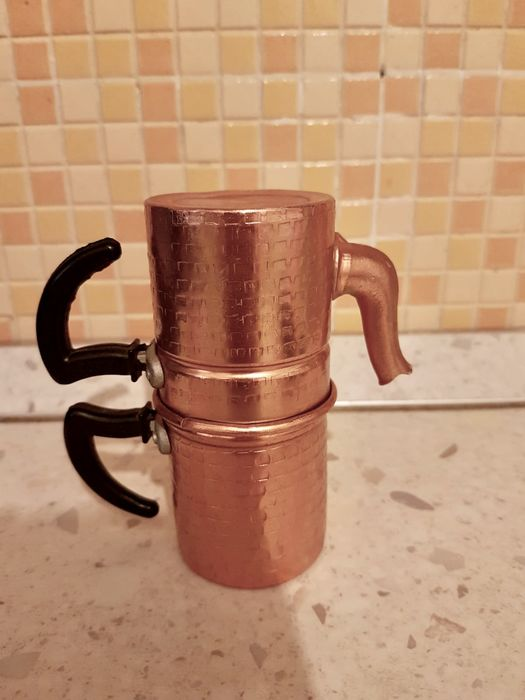 Antique copper coffee maker for collection (1) - Copper