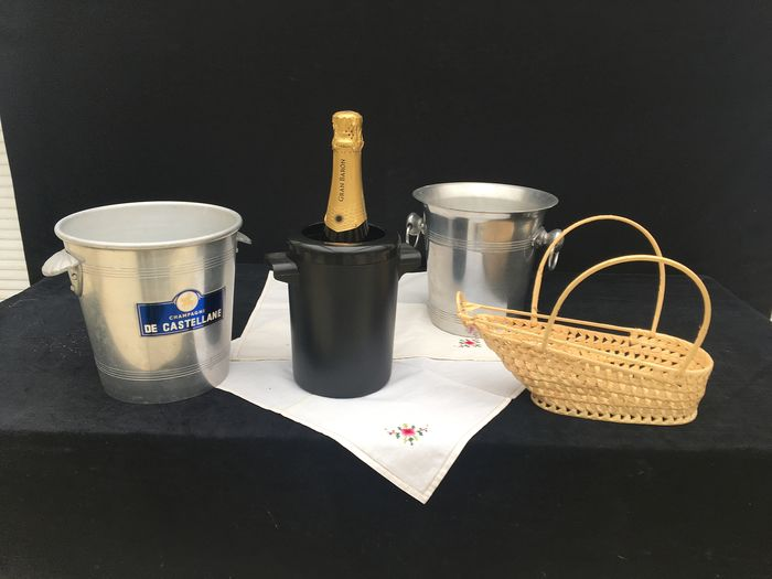 Wine - Champagne coolers and accessories (4) - Inox 18/10
