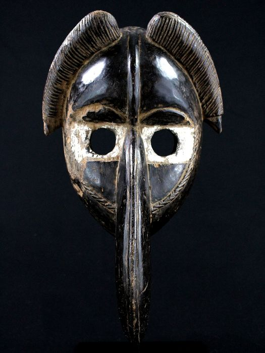 Wonderful Mask - Wood - Mahou - Dan - Ivory Coast