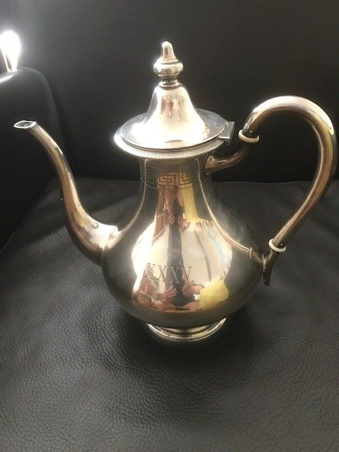 Coffee pot - .800 silver - Germany - Second half 19th century