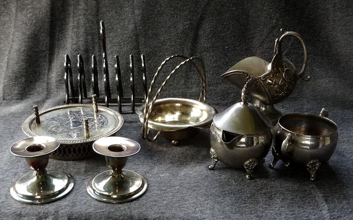 Silver-plated kitchen - Silverplate