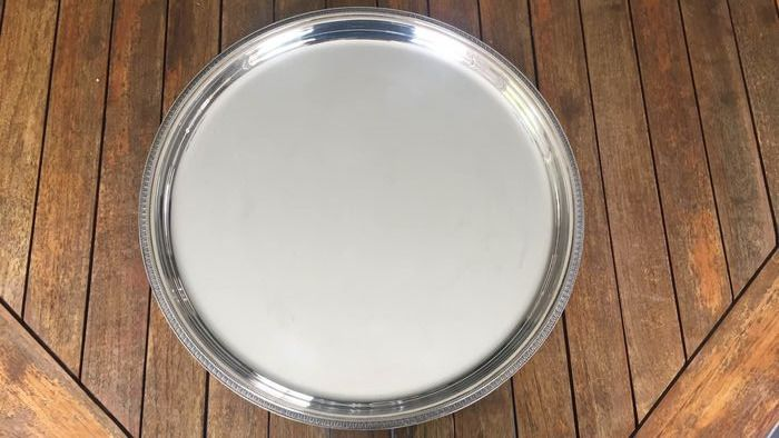 christofle  - christofle - Salver (1) - Silver plated