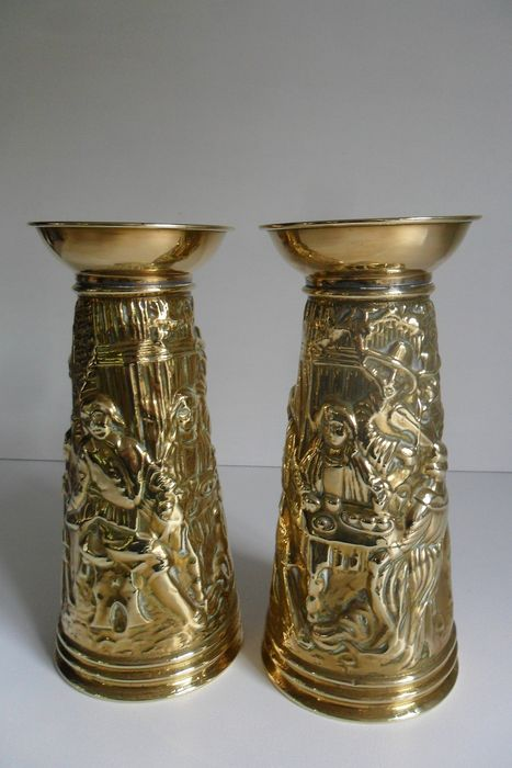 Vases (2) - Copper