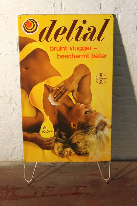 Delial sunscreen, billboard with PINUP - Look