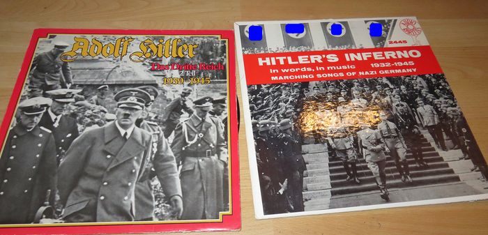 Germany - 2 x LP Adolf Hilter