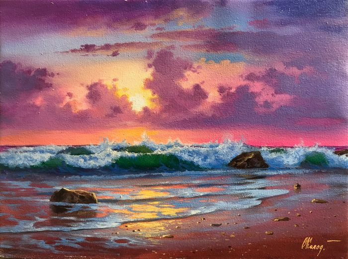 Sergey Kolodyazhniy - Purple sunset