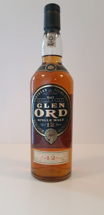 Glen Ord 12 years old - b. Années 1990 - 70cl