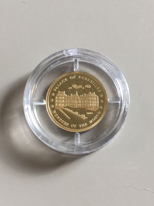 "North Korea - 10 Won 2009 - ""Palast von Versailles"" - Gold"