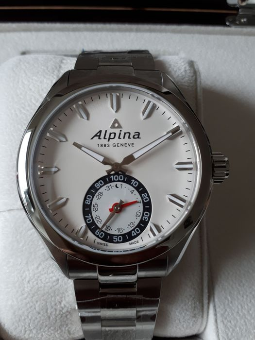Alpina - Horological Smartwatch - AL-285S5AQ6B - Men - 2011-present