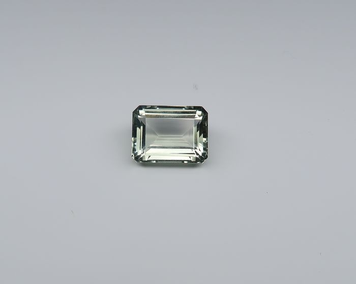 1 pcs  prasiolite - 12.36 ct