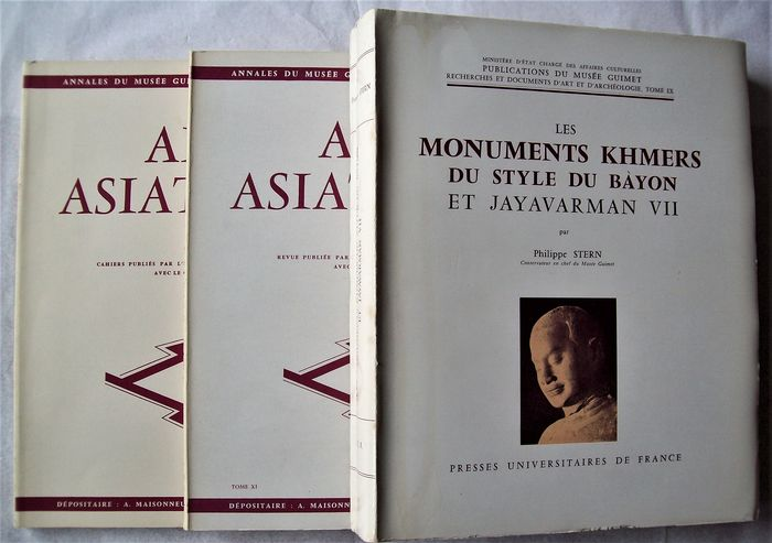 Philippe Stern  - Les monuments khmers  - 1965