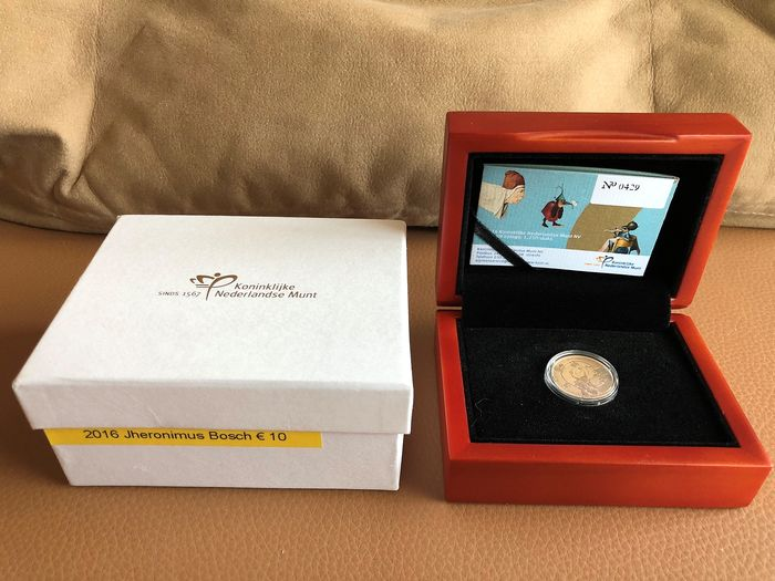The Netherlands - 10  Euro 2016 'Jheronimus Bosch Tientje' - Gold