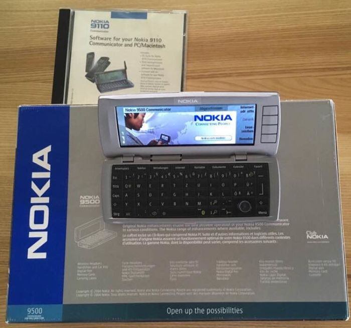 Nokia 9500 Communicator - Smartphone
