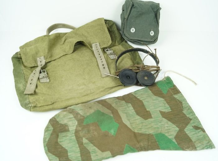 Germany - Afrika-Korps, Wehrmacht - Accessories, Equipment, Headphone, WW2 German equipment collection.