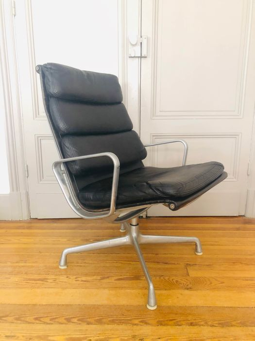 Charles Eames, Ray Eames - Herman Miller - Fauteuil - soft pad EA 215
