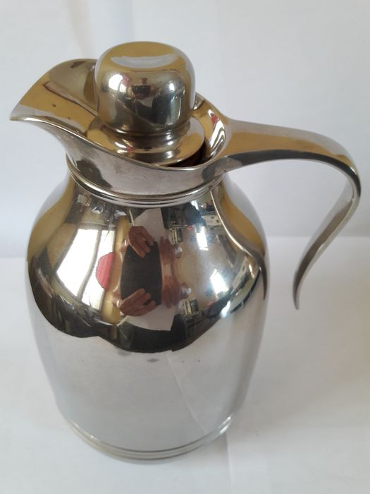 Thermal carafe - Silverplate