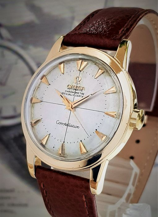 Omega - 18k gold Constellation Automatic Chronometer - 8251 - Men - 1950-1959