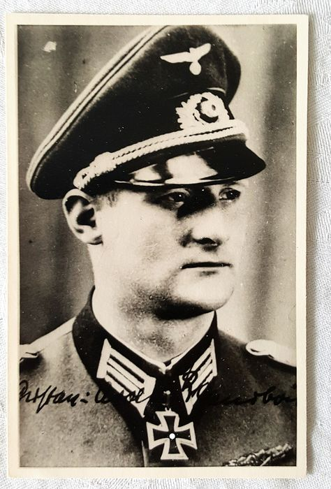 Germany - Third Reich Wehrmacht Luftwaffe Knight's Cross bearer - Postcards Postcards Lot - Portraits with an autograph!