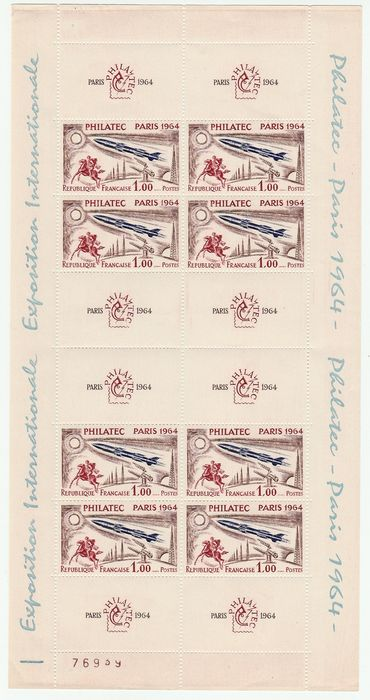France 1964 - Bloc Philatec - Yvert N°6